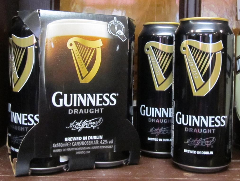 Guinness Mini Kühlschrank : Guinness draught 440 ml