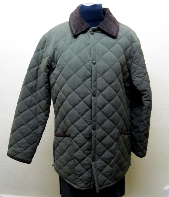 Lavenir Quilted Country Jacket Olive