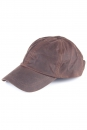 Waxed Baseball Cap brown one Size