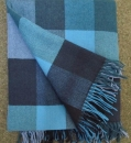 "Avoca irish Lambswool Blanket ""Willow"""