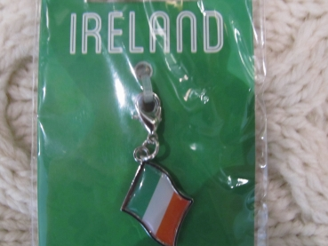 "Clip on Charm ""Ireland"""