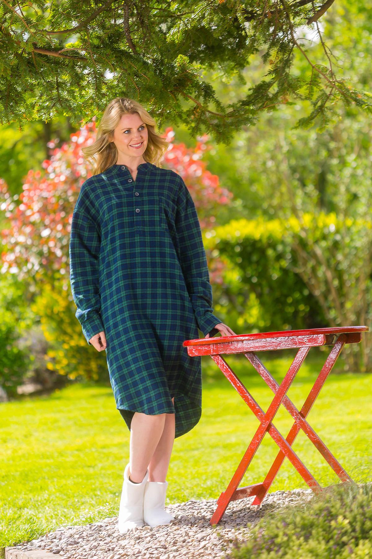 72f02a572 Irish Flannel Nightshirt LV 6